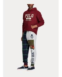 Pantalon patchwork en molleton Polo Ralph Lauren pour homme en coloris Multicolor