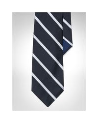 Polo Ralph Lauren - Black English Repp Stripe Tie for Men - Lyst