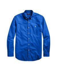 Ralph Lauren Classic-Fit-Oxfordhemd in Blue für Herren