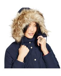 Denim & Supply Ralph Lauren - Blue Hooded Down Parka - Lyst