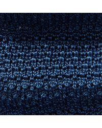 Polo Ralph Lauren - Blue Knit Silk Tie for Men - Lyst