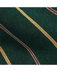 Polo Ralph Lauren - Green Striped Silk Repp Narrow Tie for Men - Lyst