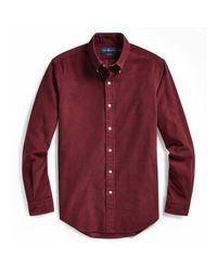 Polo Ralph Lauren Slim-Fit Hemd aus Kordsamt in Red für Herren