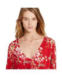 Denim & Supply Ralph Lauren - Multicolor Floral Wrap Dress - Lyst