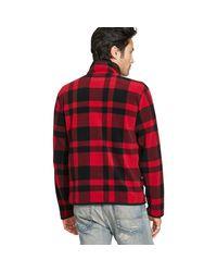 Denim & Supply Ralph Lauren Multicolor Plaid Fleece Jacket for men