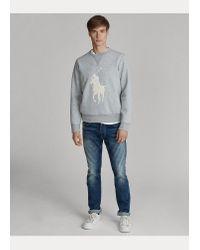 Polo Ralph Lauren Sweatshirt mit Big Pony in Gray für Herren