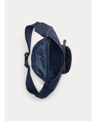 Polo Ralph Lauren Hüfttasche aus Baumwollsegeltuch in Blue für Herren