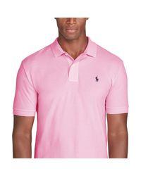 Polo Ralph Lauren Pink Classic-fit Mesh Polo Shirt for men