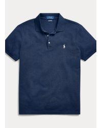 Polo Elástico Custom Slim Fit Polo Ralph Lauren de hombre de color Blue