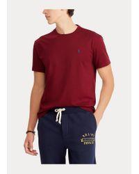 Ralph Lauren Classic-Fit Rundhals-T-Shirt in Red für Herren