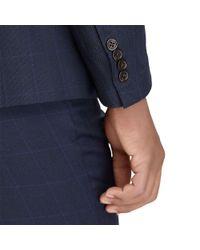 Polo Ralph Lauren - Blue Polo Windowpane Birdseye Suit for Men - Lyst