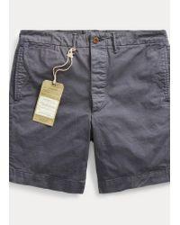 Short en coton chino Ralph Lauren pour homme en coloris Blue
