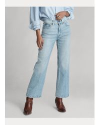 Ralph Lauren Blue Laight Cropped Flare