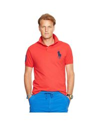 Polo Ralph Lauren Classic-Fit Polohemd aus Piqué in Red für Herren