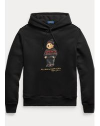 Polo Ralph Lauren Kapuzenshirt Lunar New Year mit Bear in Black für Herren