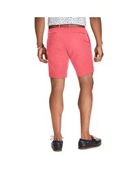 Polo Ralph Lauren Red Stretch Slim Fit Chino Short for men