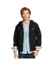 Polo Ralph Lauren - Black Cotton-blend Windbreaker for Men - Lyst