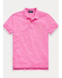 Polo Pink Pony De Piqué De Algodón Ralph Lauren