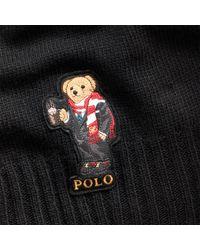 Écharpe Holiday Bear Polo Ralph Lauren pour homme en coloris Black
