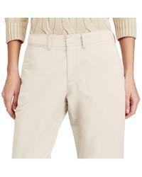 Polo Ralph Lauren - Natural Cotton Boyfriend Pant - Lyst