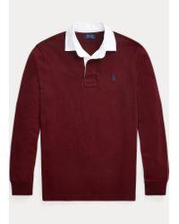 Polo Ralph Lauren Das klassische Rugbyhemd in Red für Herren
