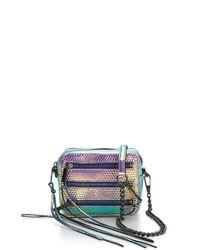 Rebecca Minkoff | Multicolor 4 Zip Moto Camera Bag | Lyst