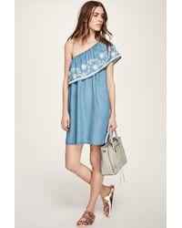 Rebecca Minkoff | Blue Rita Dress | Lyst