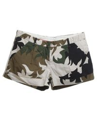 Prada Multicolor Shorts mit Muster