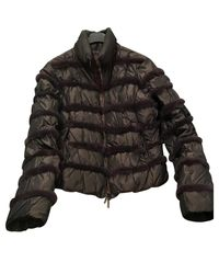 Moncler Black Steppjacke