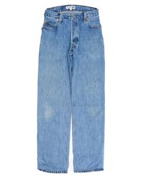 Re/done - Blue Ultra High Rise for Men - Lyst