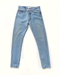 Re/done - Blue No. 27ss13716 - Lyst
