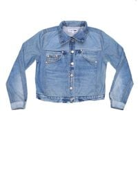 Re/done - Blue Reconstructed Jean Jacket for Men - Lyst