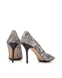 Jimmy Choo - Metallic Pre-owned Agnes Heels - Lyst