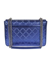Moschino - Blue Synthetic Leather Bag - Lyst