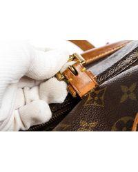 Louis Vuitton - Brown Monogram Canvas Leather Mini Montsouris Backpack Bag - Lyst
