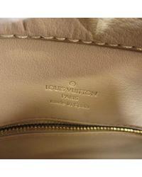 Louis Vuitton Natural Vernis Tote Bag M91004 Houston