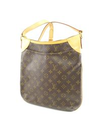 0e95306baf7c Louis Vuitton. Women s Brown Monogram Canvas Shoulder Bag M56389 Odeon Mm