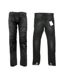 Balmain - Black Men's Biker Jean for Men - Lyst