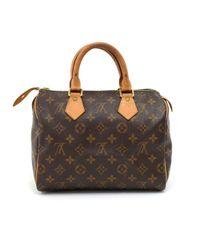 Louis Vuitton - Brown Speedy 25 Monogram Canvas City Hand Bag - Lyst