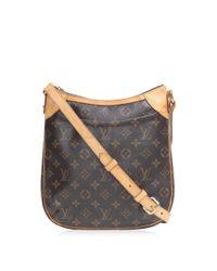 e931eda5a Louis Vuitton - Odeon Pm Shoulder Crossbody Bag M56390 Monogram Brown - Lyst
