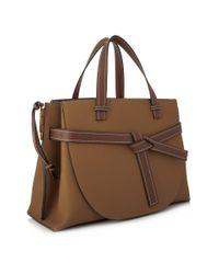 Loewe Brown Gate Top Handle Bag