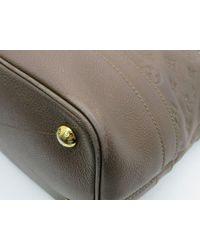 Louis Vuitton Gray Empreinte Citadine Pm Shoulder Bag Grey M94177 3240