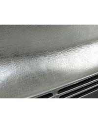 Chanel - Metallic Zip Long Wallet Leather Silver - Lyst