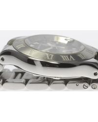 Cartier - Metallic Kuronosukafu W10172t2 Quartz Mens Pre-owned for Men - Lyst
