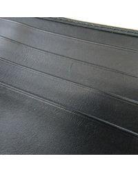 Bottega Veneta - Black Leather Bifold Wallet No Coin Pocket Intrecciato for Men - Lyst