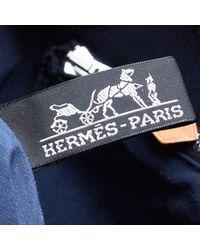Hermès Blue Porte Documents Bag