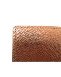 Louis Vuitton - Brown Monogram Porte Cartes Credit Pression Card Case M60937 - Lyst