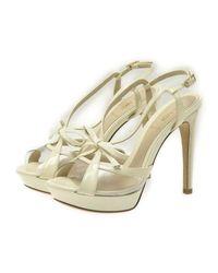 Fendi - Sandal White 36 1/2 - Lyst
