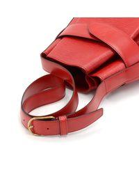 Louis Vuitton - Vintage Sac Depaule Pm Red Epi Leather Shoulder Bag - Lyst