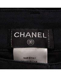 Chanel Pants Black 36 for men